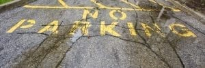 Paving - Cracked Parking Lot
